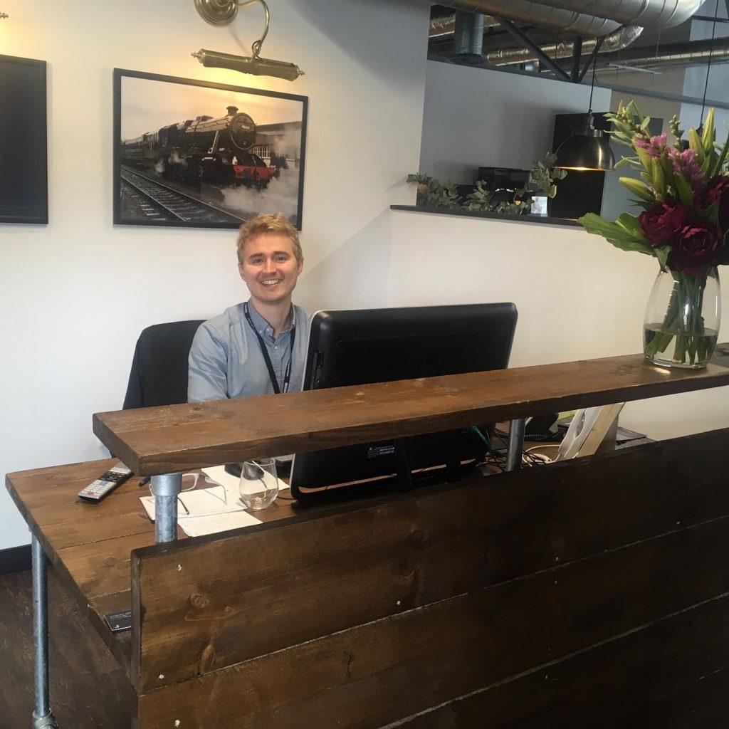 Seb Hockaday - Concierge - Freshmill Serviced offices Haywards Heath